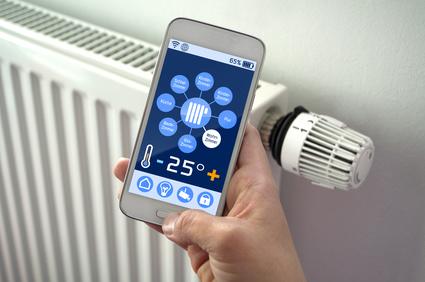 Smart Home Steuerung mit Mobiltelefon